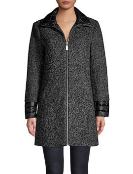 Essential Full Zip Coat by Kenneth Cole New York