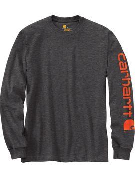 Carhartt Men's Graphic Logo Long Sleeve Shirt by Carhartt