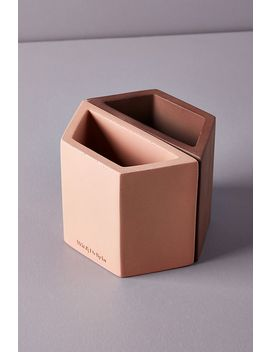 Wit & Delight Concrete Pencil Holder by Anthropologie