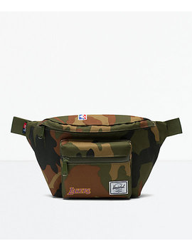 Herschel Supply Co. Seventeen La Lakers Camo Fanny Pack by Herschel Supply