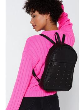 Want Dome Is Where The Heart Is Studded Backpack by Nasty Gal