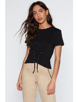 Corset It Is Tee by Nasty Gal