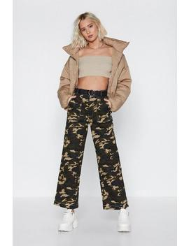 Camo Cargo Trousers by Nasty Gal