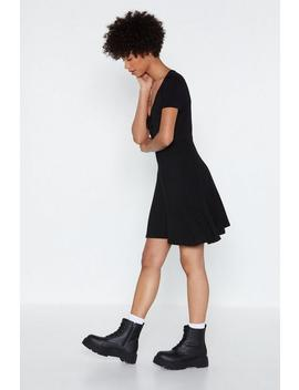 Karaoke Nights Tie Dress by Nasty Gal