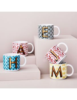 Vintage Print Mugs by West Elm