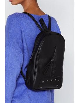 Want Hang On Tassel Backpack by Nasty Gal