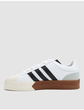 Aw Skate Super Sneaker In White by Adidas X Alexander Wang