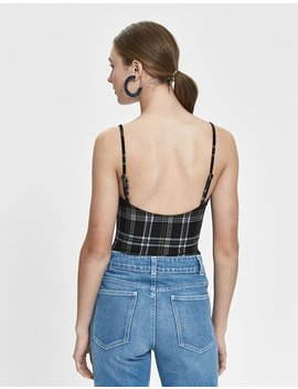 Ursula Plaid Bodysuit by Stelen