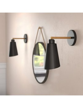 Langley Street Valmonte 1 Light Wall Sconce & Reviews by Langley Street
