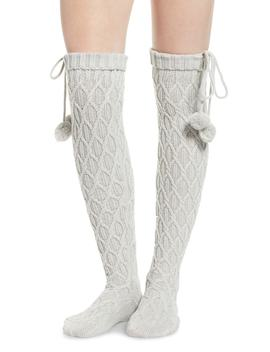 Sparkle Cable Knit Over The Knee Socks by Ugg