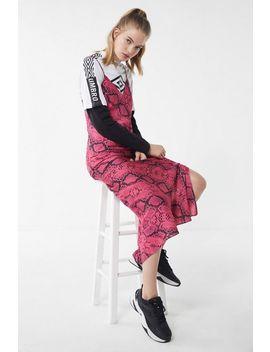 Uo Snake Print Maxi Slip Dress by Voir Plus De Urban Outfitters