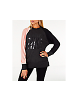 Women's Nike Dry Colorblock Crew Sweatshirt by Nike