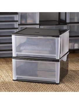 "Wayfair Basics™ Wayfair Basics 18.9"" W Stacking Storage Drawer Set & Reviews by Wayfair Basics™"