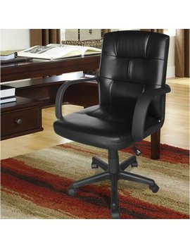 Symple Stuff Leather Executive Chair & Reviews by Symple Stuff