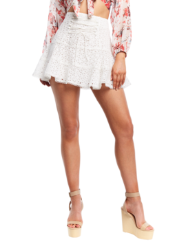 Evah Frill Skirt by Bardot