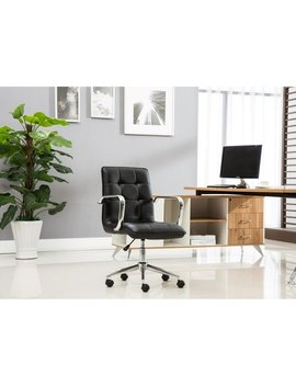 Porch & Den Bayview Colony Adjustable Office Chair by Porch & Den