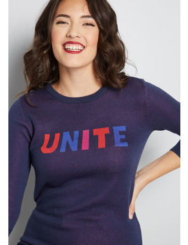 Unite Sweater by Modcloth