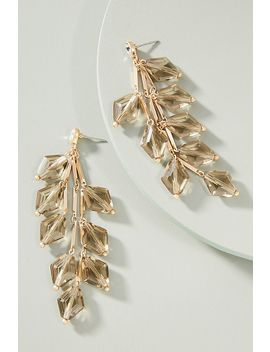 First Frost Drop Earrings by Lydell Nyc