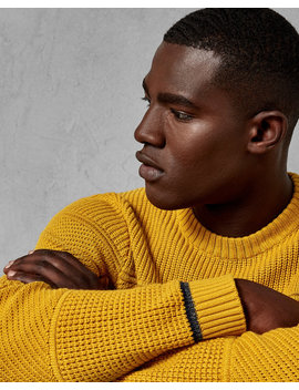 Textured Crew Neck by Ted Baker