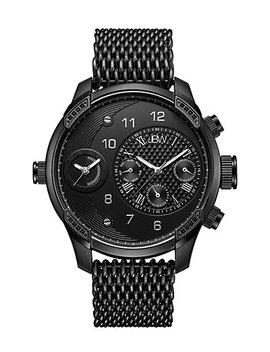 Jbw Men's G3 World Traveler Set Diamond Watch by Jbw