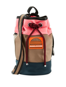 Small Sport Sling Colorblock Backpack Bag by Neiman Marcus