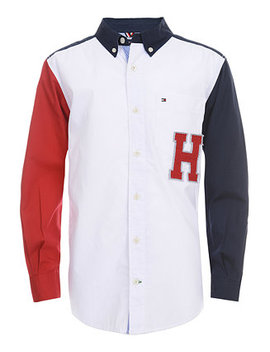 Little Boys Andrew Colorblocked Shirt by Tommy Hilfiger