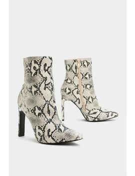 You're Gonna Hiss Me Snake Boot by Nasty Gal