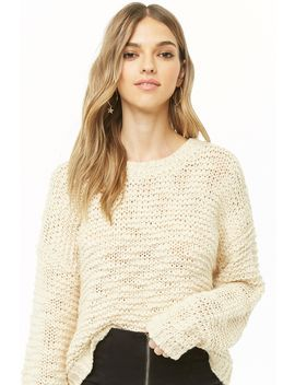 Chunky Purl Knit Jumper by Forever 21
