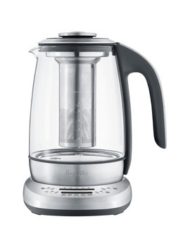 Breville Programmable Tea Maker Kettle   1.7 L   Glass/Stainless Steel by Breville