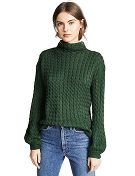 Juniper Cable Knit Sweater by Line & Dot