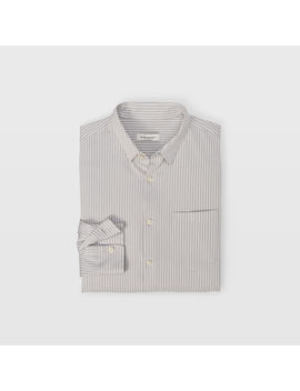 Knit Stripe Button Down by Club Monaco