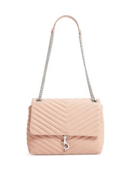 Edie Flap Quilted Leather Shoulder Bag by Rebecca Minkoff