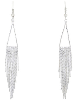 Metal Fringe Drop Earring by Wayne Cooper