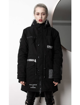 Dissent Parka by Disturbia