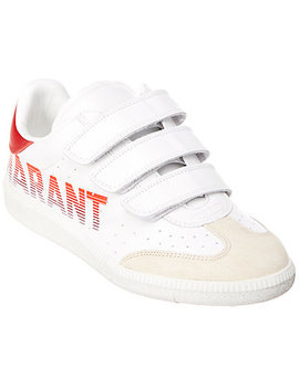 Isabel Marant Beth Logo Leather & Suede Low Top Sneaker by Isabel Marant