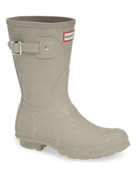 Original Textured Short Rain Boot by Hunter