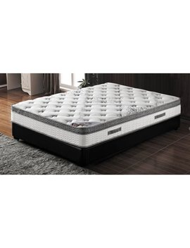 Milton Green 10 In. Pocketed Coil Mattress With Pillow Top by Milton Greens Stars