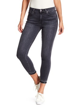 Gwenevere Released Ankle Hem Jeans by 7 For All Mankind