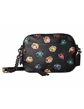 Camera Bag In Floral Printed Leather by Coach