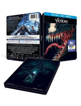 Ay/Dvd] [Only @ Best Buy] [2018] by Venom [Steel Book] [Includes Digital Copy] [Bl