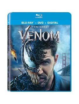 Venom (2018) (Blu Ray + Dvd + Digital) by Target