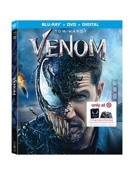 Venom Hardcover Gallery Book Gwp (Blu Ray + Dvd + Digital)(Target Exclusive) by Target