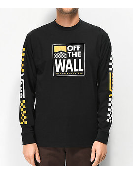 Vans Fastline Black Long Sleeve T Shirt by Vans