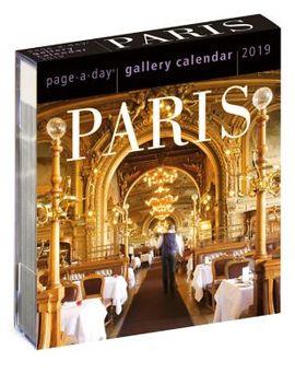 2019 Paris Gallery Calendar by Workman Publishing