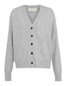 Mélange Wool And Cashmere Blend Cardigan by By Malene Birger