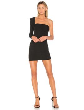 One Shoulder Mini Dress by Baja East