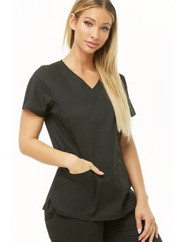 Utility Scrub Top by Forever 21