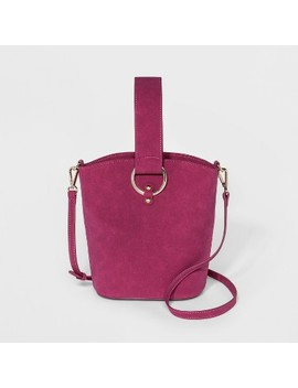 Love Crossbody Bag   Who What Wear™ Plum by Who What Wear