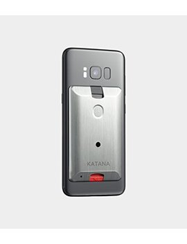 Katana Safety Arc: The Personal Security System That Attaches Directly To Your Smartphone. Includes 1 Free Month Of The 24/7 Katana Response Center Service. (Silver) by Katana Safety