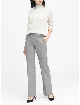 Logan Trouser Fit Washable Wool Blend Pant by Banana Repbulic
